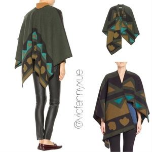 🆕 Burberry wool and cashmere blend cape poncho
